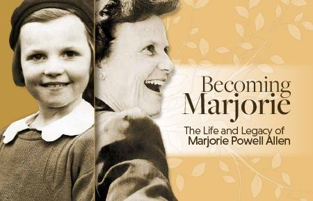 Becoming Marjorie book